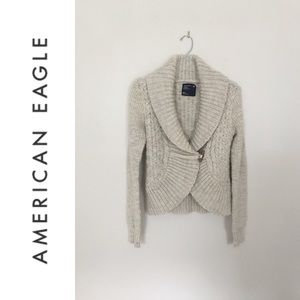 American Eagle Toggle Sweater